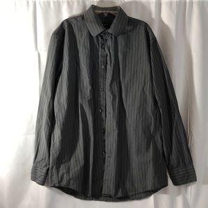 Alfani Men's Dress Shirt.  Size: Medium. Grey